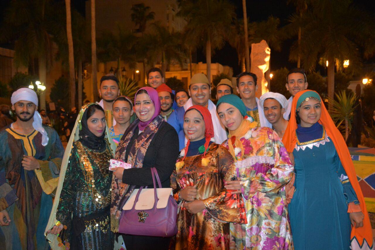 6 فرق مهرجان دمنهور للفلكلور