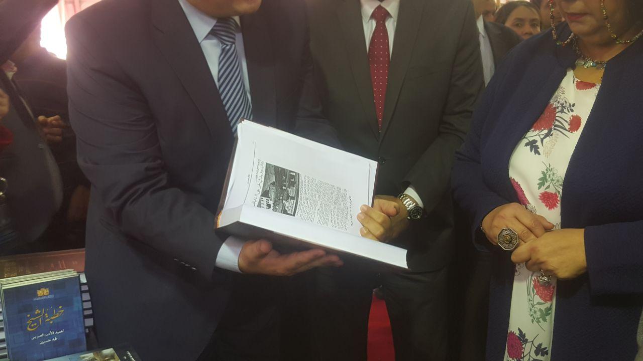 وزيرة الثقافة تفتتح معرض الإسكندرية للكتاب (10)
