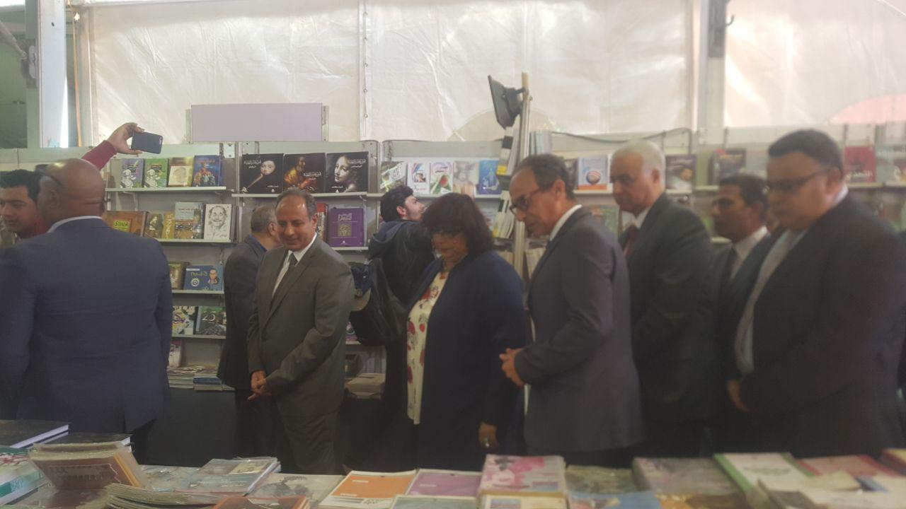 وزيرة الثقافة تفتتح معرض الإسكندرية للكتاب