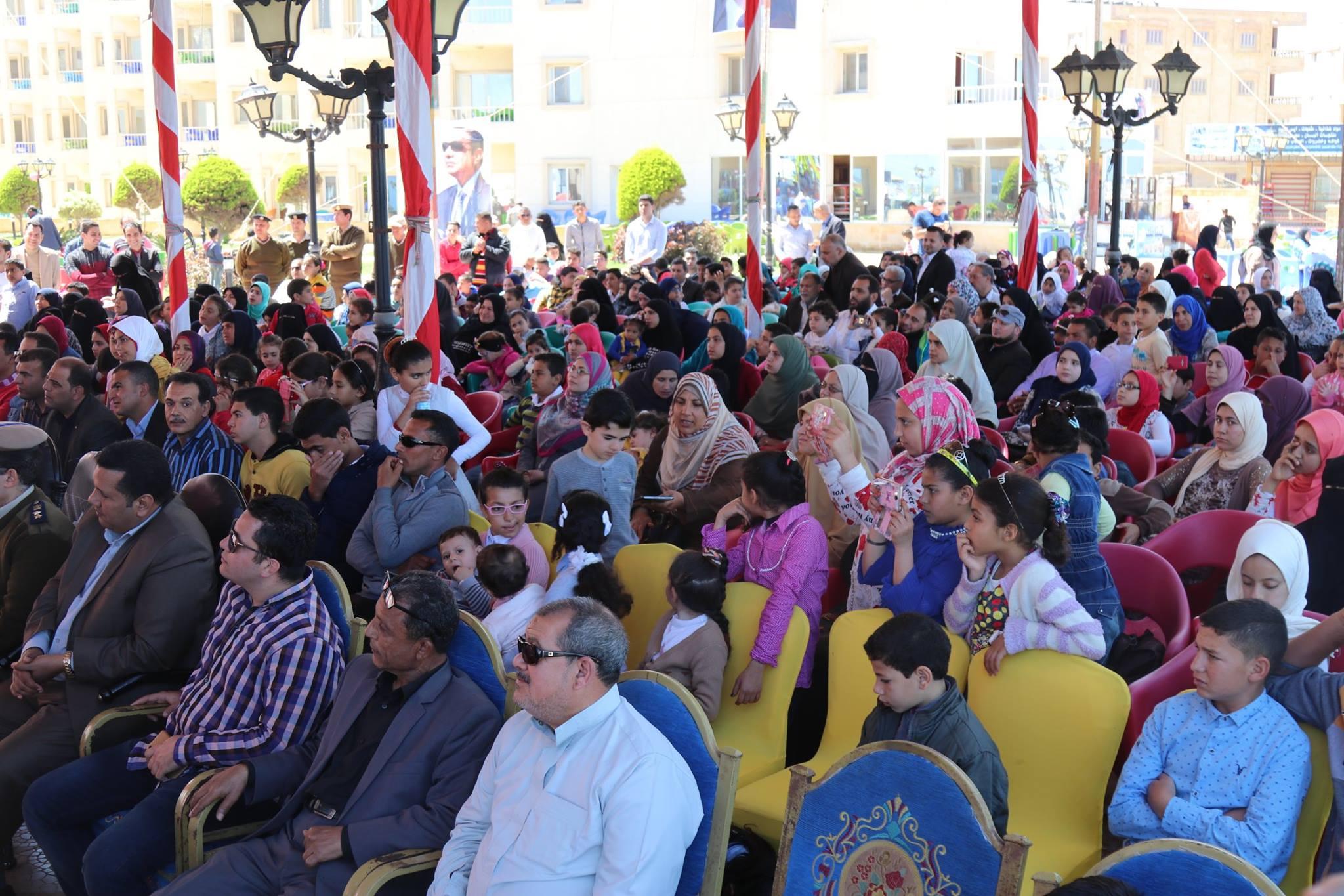 6- جانب من الحضور اثناء التكريم