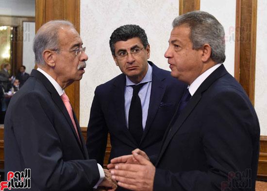 اجتماع الحكومة -- مجلس الوزراء (7)