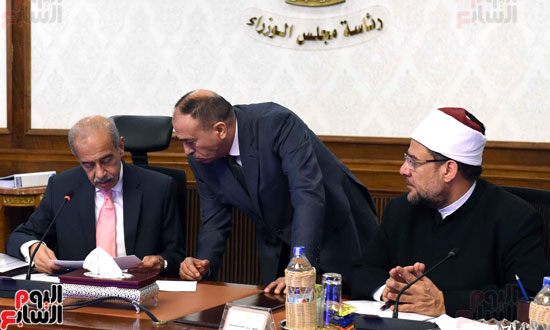 اجتماع الحكومة -- مجلس الوزراء (15)