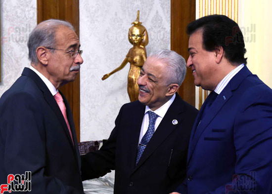اجتماع الحكومة -- مجلس الوزراء (1)