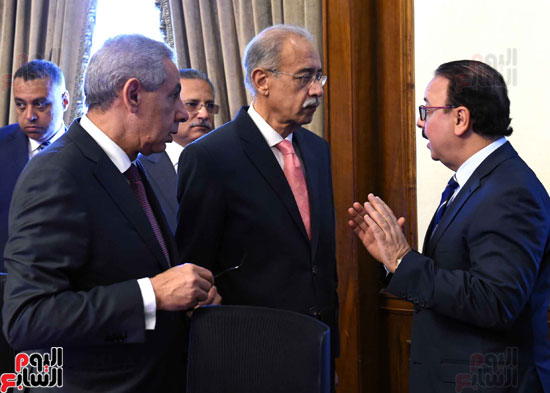 اجتماع الحكومة -- مجلس الوزراء (4)