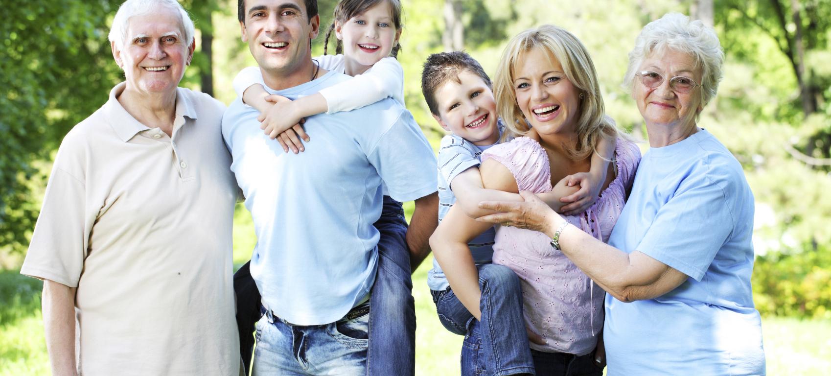 شخصية محبة للعائلة