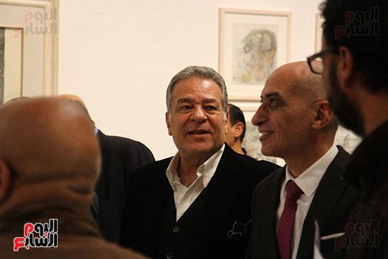 خالد سرورو يفتتح صالون القاهرة بقصر الفنون بالأوبرا (46)