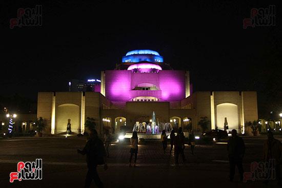 خالد سرورو يفتتح صالون القاهرة بقصر الفنون بالأوبرا (24)