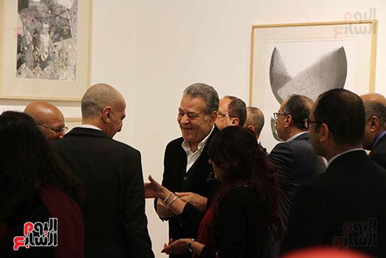 خالد سرورو يفتتح صالون القاهرة بقصر الفنون بالأوبرا (1)