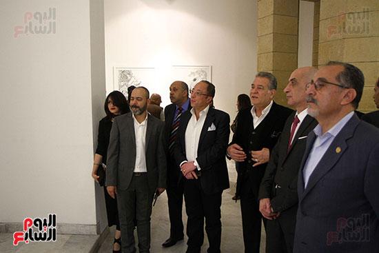 خالد سرورو يفتتح صالون القاهرة بقصر الفنون بالأوبرا (7)