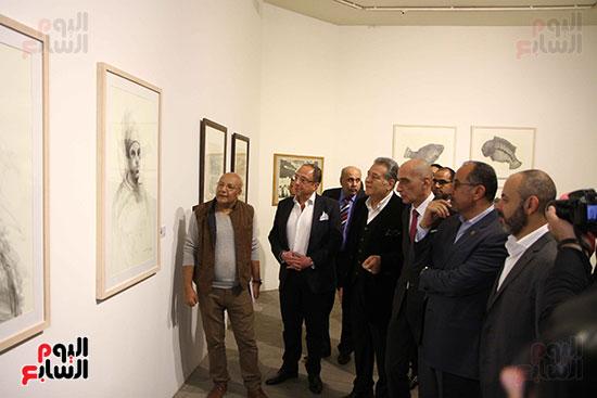 خالد سرورو يفتتح صالون القاهرة بقصر الفنون بالأوبرا (36)