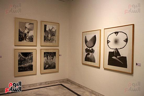 خالد سرورو يفتتح صالون القاهرة بقصر الفنون بالأوبرا (20)