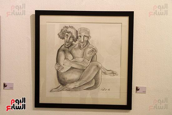 خالد سرورو يفتتح صالون القاهرة بقصر الفنون بالأوبرا (10)