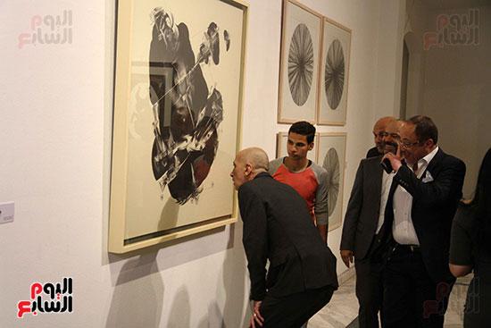 خالد سرورو يفتتح صالون القاهرة بقصر الفنون بالأوبرا (51)