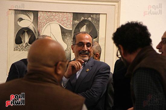 خالد سرورو يفتتح صالون القاهرة بقصر الفنون بالأوبرا (45)