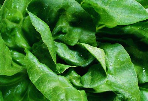الخضروات الورقية تساعد على تخفيف آلام الدورة الشهرية