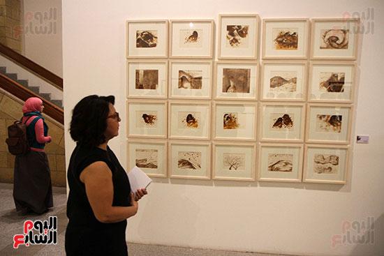 خالد سرورو يفتتح صالون القاهرة بقصر الفنون بالأوبرا (40)