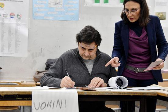 إجراءات الانتخابات التشريعية فى إيطاليا