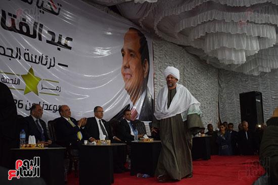 حصاد 7 مؤتمرات حاشدة دعم الرئيس السيسى بالأقصر
