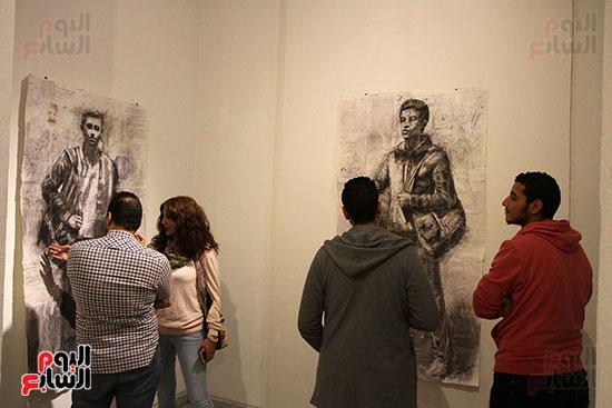 خالد سرورو يفتتح صالون القاهرة بقصر الفنون بالأوبرا (11)