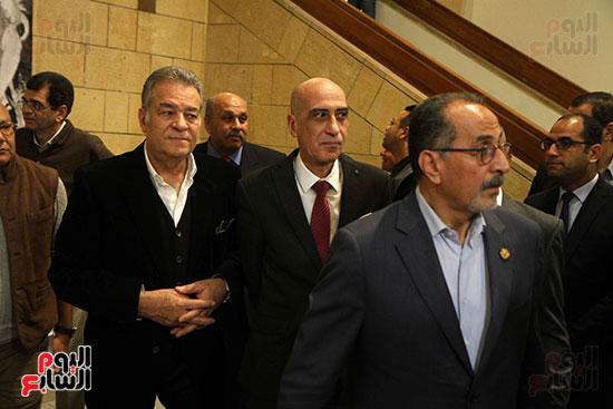 خالد سرورو يفتتح صالون القاهرة بقصر الفنون بالأوبرا (26)