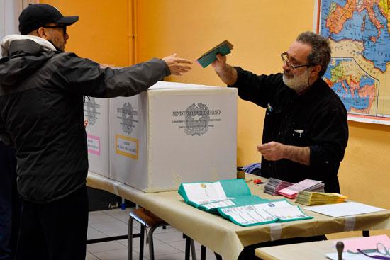 انطلاق الانتخابات التشريعية فى إيطاليا