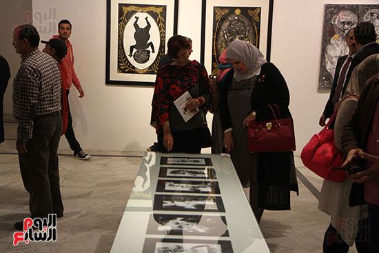 خالد سرورو يفتتح صالون القاهرة بقصر الفنون بالأوبرا (50)