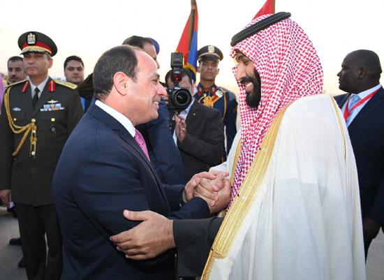 السيسى و محمد بن سلمان  (1)