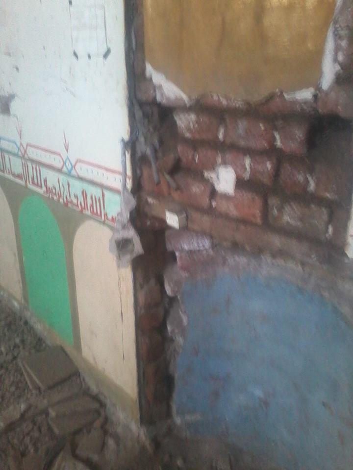 المسجد مغلق من 3 سنوات