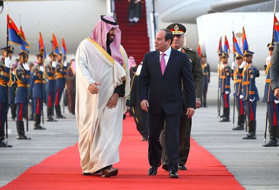 السيسى و محمد بن سلمان  (3)