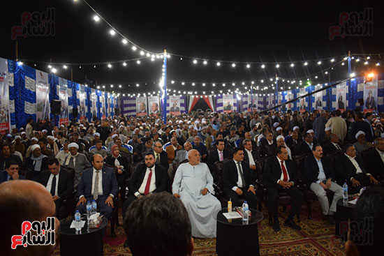 مؤتمر آل العمارى والعمدة فيصل لدعم الرئيس السيسي