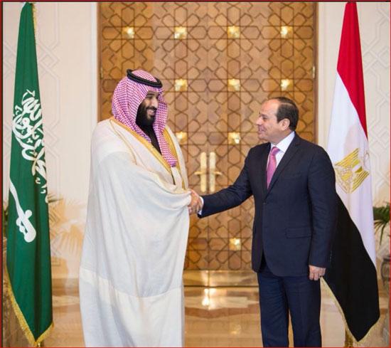 السيسى و محمد بن سلمان (6)