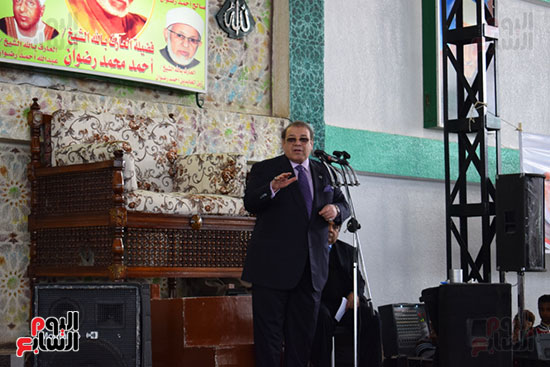 كلمة رجل الأعمال حسن راتب بمؤتمر الساحة الرضوانية