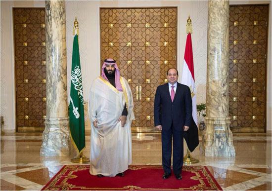 السيسى و محمد بن سلمان (8)