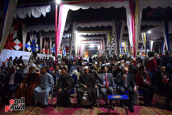 مؤتمر بساحة ميدان ابو الحجاج لدعم الرئيس