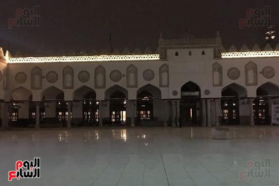 محراب ومنبر الجامع الازهر بعد التجديد