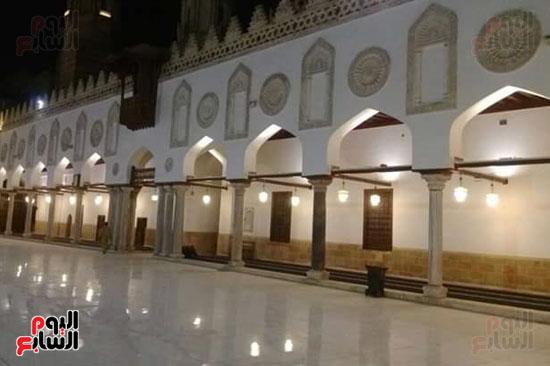 جانب من سقف الجامع