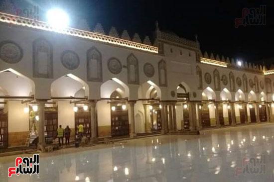 صحن الجامع الازهر الشريف