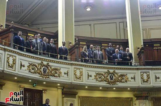 على عبد العال يرحب بطلاب كلية الحقوق جامعة المنصورة (5)