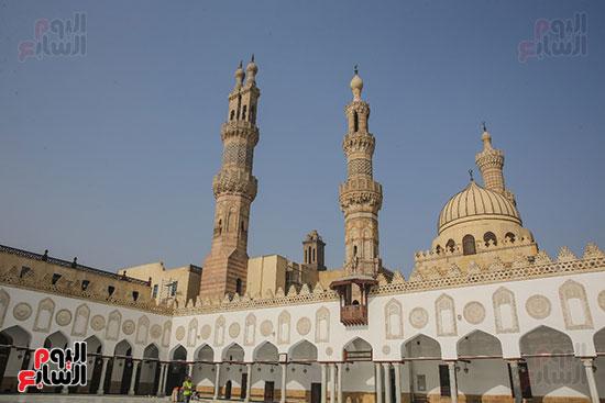 الجامع الأزهر بعد اكتمال أعمال الترميم   (53)
