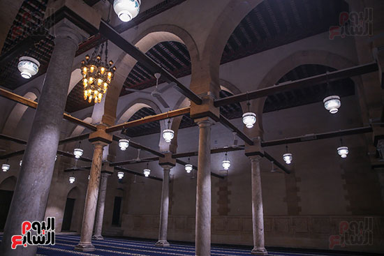 الجامع الأزهر بعد اكتمال أعمال الترميم   (1)