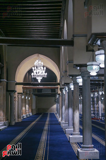 الجامع الأزهر بعد اكتمال أعمال الترميم   (66)