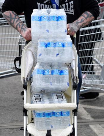 أزمة المياه فى بريطانيا