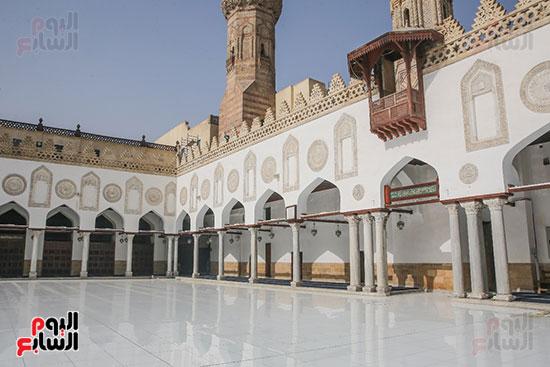 الجامع الأزهر بعد اكتمال أعمال الترميم   (55)