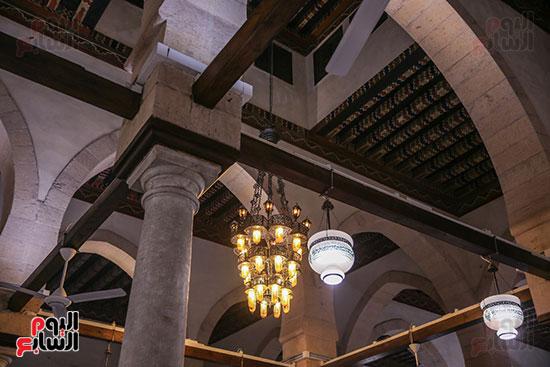 الجامع الأزهر بعد اكتمال أعمال الترميم   (44)