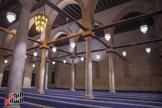 الجامع الأزهر بعد اكتمال أعمال الترميم   (4)
