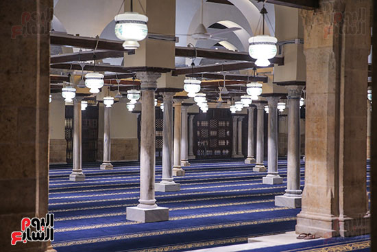 الجامع الأزهر بعد اكتمال أعمال الترميم   (29)