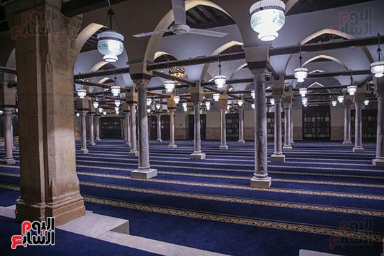 الجامع الأزهر بعد اكتمال أعمال الترميم   (34)