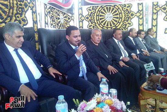 رئيس حزب مستقبل وطن يطالب بالخروج أيام الإنتخابات لتحويلها لعيد