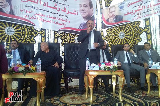 عاطف صابر عضو الكتلة البرلمانية لحزب مستقبل وطن