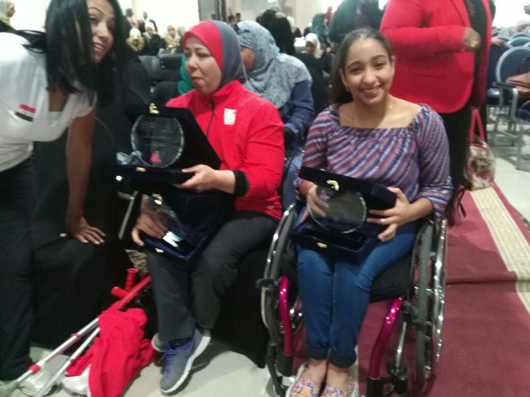 تكريم بطلات من ذوات الإعاقة (2)